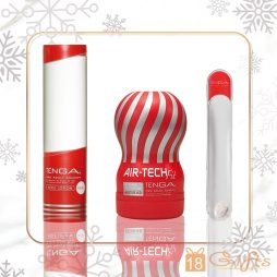 TENGA BEST FRIEND XMAS SET (RED) 巴打聖誕禮物套裝 SET A