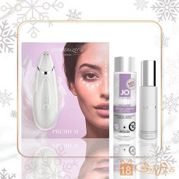 PREMIUM WOMANIZER LOVE CHRISTMAS SET (WHITE) 聖誕高潮探索套裝 SET A