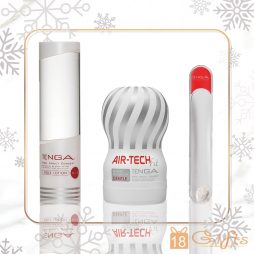 TENGA BEST FRIEND XMAS SET (WHITE ) 巴打聖誕禮物套裝 SET B