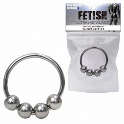FETISH ULTRA METAL RING 走珠助勃環